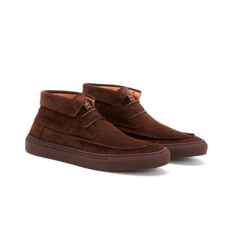 Alec Suede Chukka Sneakers // Brown (US: 7)