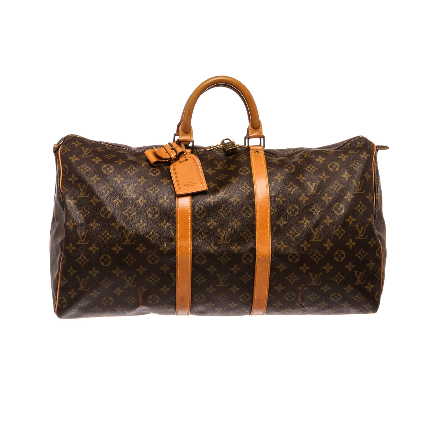 keepall 55 duffle fh0960 pre owned louis vuitton touch of modern. Black Bedroom Furniture Sets. Home Design Ideas