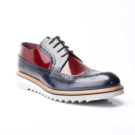 Wisdom Dress Shoes // Dark Blue (Euro: 39)