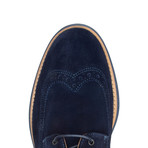 Manarola Suede Brogue // Blue (US: 10)