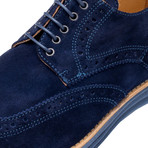 Manarola Suede Brogue // Blue (US: 9)