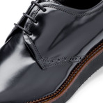 Lazio Leather Derby // Nero (US: 12)