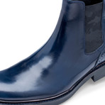 Bari Leather Chelsea Boot // Blue (US: 10)