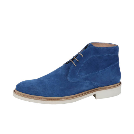 Verona Suede Chukka Boot // Bluette (US: 8)