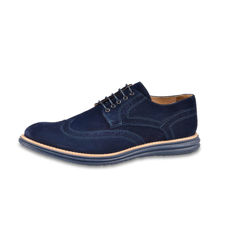 Manarola Suede Brogue // Blue (US: 8)