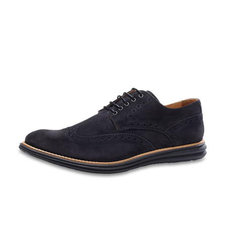 Manarola Suede Brogue // Nero (US: 8)