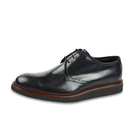 Lazio Leather Derby // Nero (US: 8)