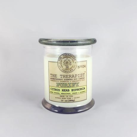No. 04 Citrus-Herb Euphoria Soy Candle (6oz Tin Can)