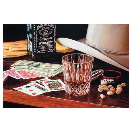 "Big Poker Night (16.5""W x 11""H)"