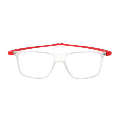 Blandin Frame // Crystal + Red
