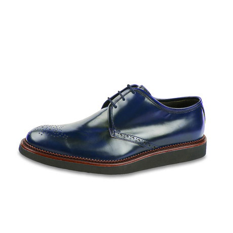 Lazio Leather Derby // Navy (US: 8)