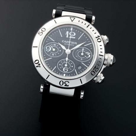 Cartier Pasha Chronograph Automatic // W31088U2 // Pre-Owned