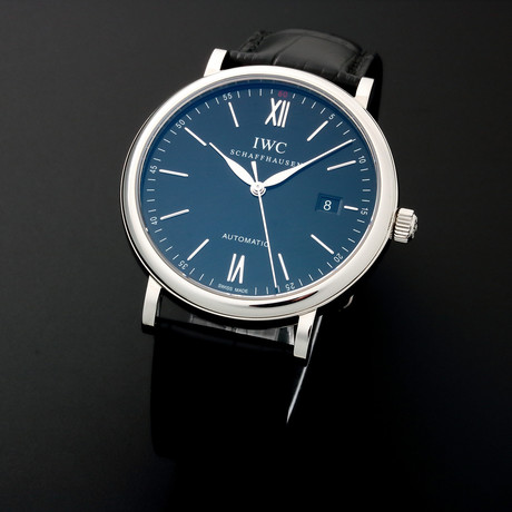 IWC Date Automatic // IW356502 // Pre-Owned