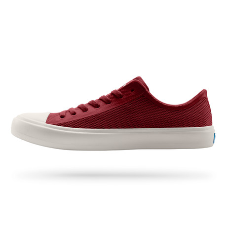 Phillips Low-Top Sneaker // Highland Red + Picket White (US: 7)