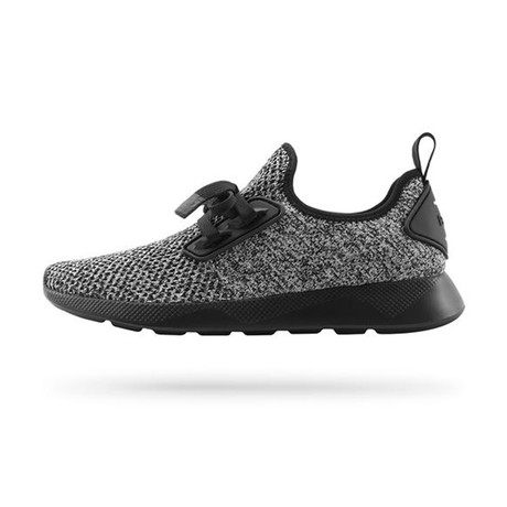 Waldo Knit Runner // Really Black + Gallery Grey (US: 7)
