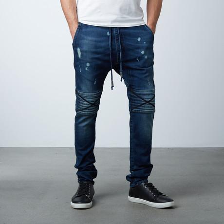 Damian Hybride Jeans // Blue Velvet (XS)