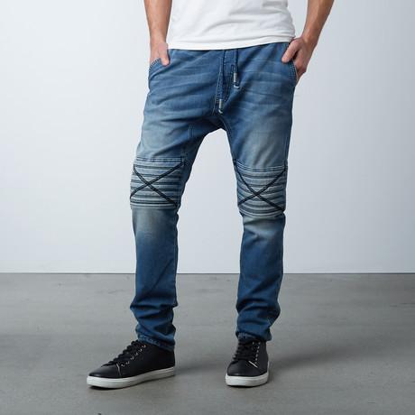 Damian Hybride Jeans // Spectra Blue (XS)