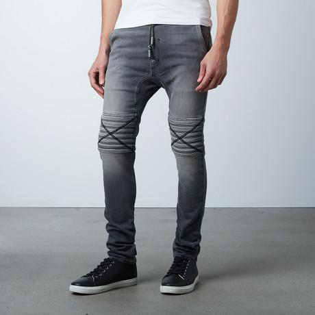 Damian Hybride Jeans // Murky Dismal Grey (XS)