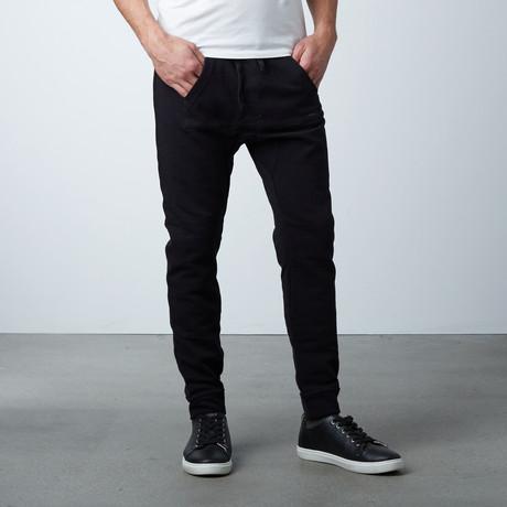 Jasper Kangaroo Sweats // Black