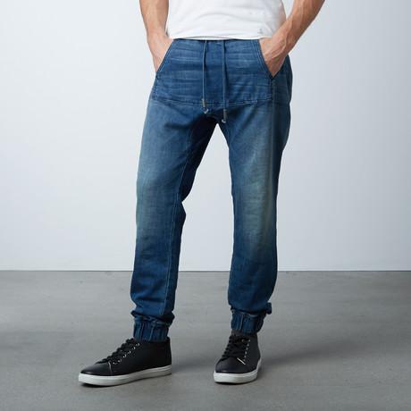 Jasper Hybride Jeans // Avatar Blue (XS)