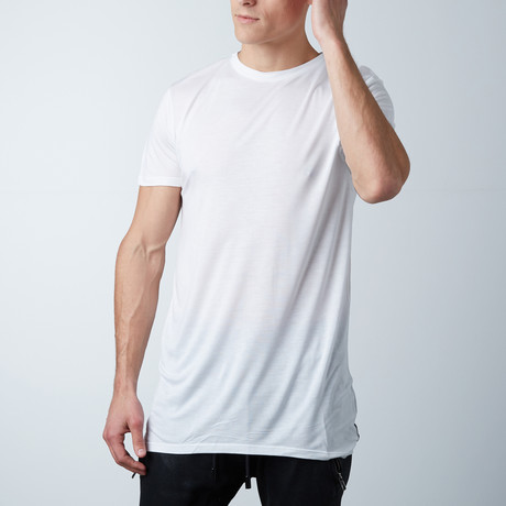 Modal Silk Clean Tee // White (XS)