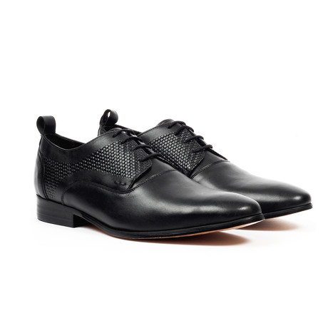 Fashion Derby Dress Shoes // Black (US: 6)