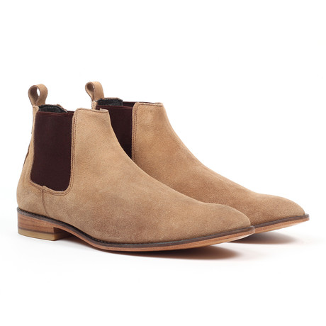 Chelsea Dress Boot // Taupe (US: 6)