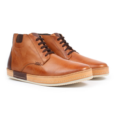 Lace-up Sneaker Boot // Maple (US: 6)