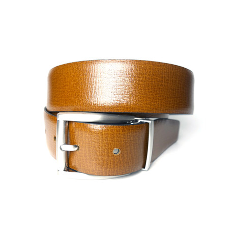 "Reversible Classic Belt // Brown + Black (Size 30"")"