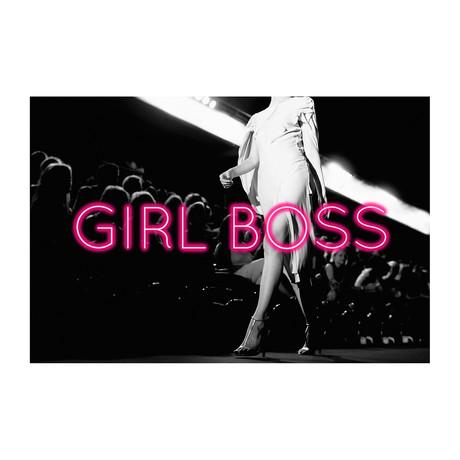"""Girl Boss (24""""W x 16""""H x 1.5""""D)"""