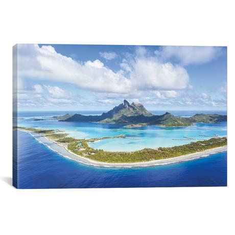 """Bora Bora Island, French Polynesia (26""""W x 18""""H x 0.75""""D)"""
