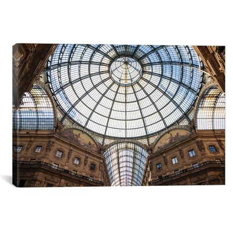 """Galleria Vittorio Emanuele, Milan, Italy (26""""W x 18""""H x 0.75""""D)"""