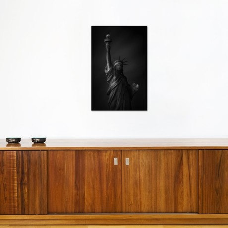 "The Statue Of Liberty (26""W x 18""H x 0.75""D)"