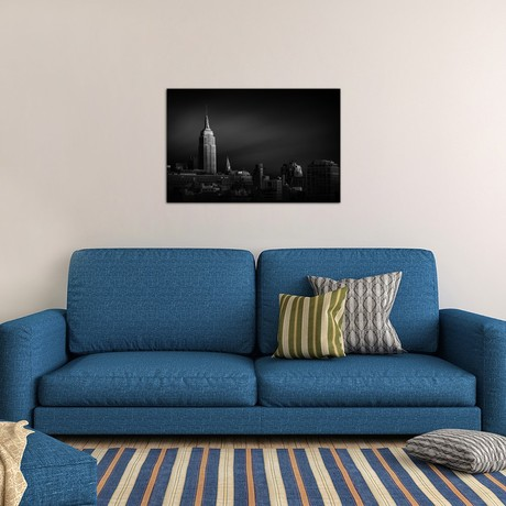 "New York Skyline (18""W x 26""H x 0.75""D)"