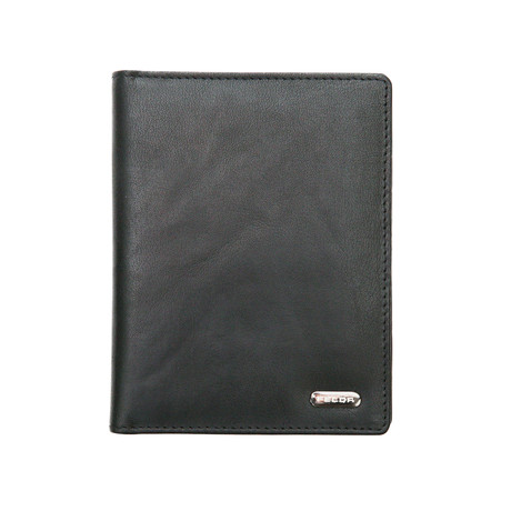 York Passport Wallet // Black
