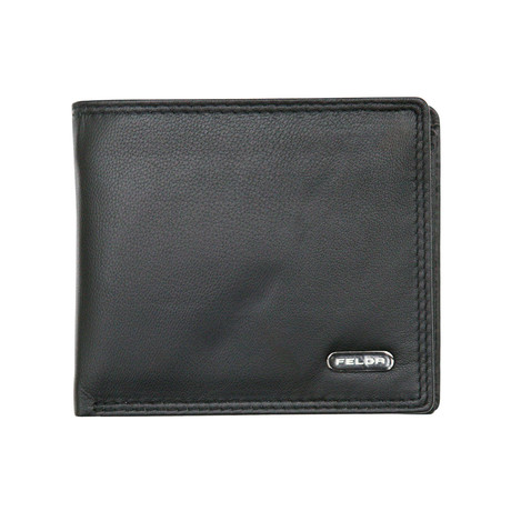 Reisling Bi-Fold Wallet // Black