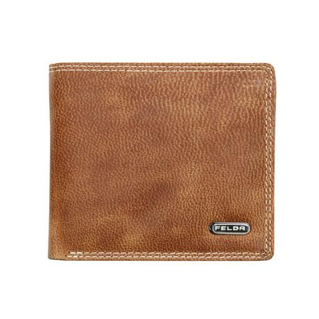 Reisling Bi-Fold Wallet // Tan