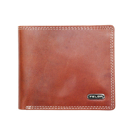 Reisling Bi-Fold Wallet // Brown