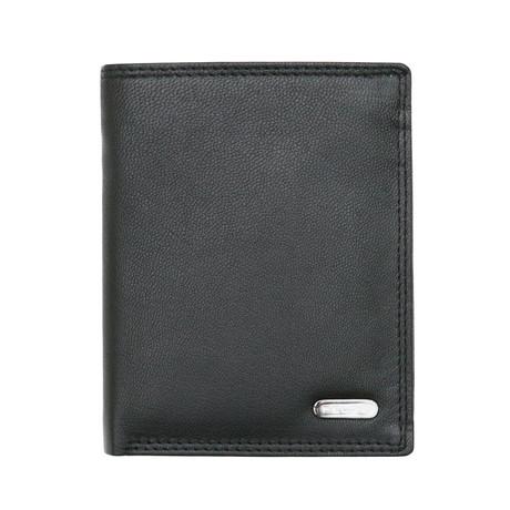 Timmer Bi-Fold Wallet // Black