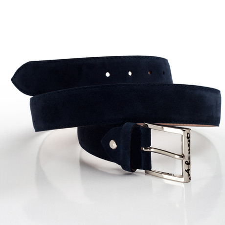 Rouge Belt Suede // Blue (S)