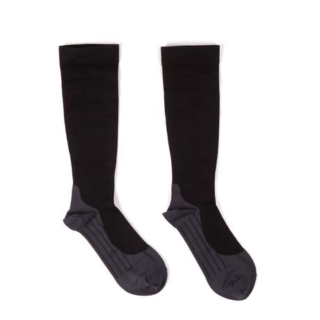 Anti-Microbial Compression Socks // Silver Fiber