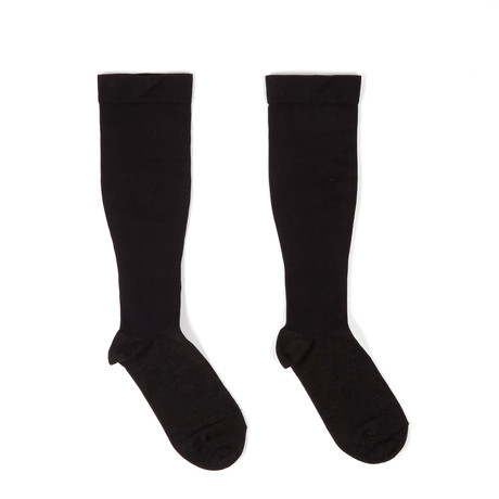 Anti-Odor Compression Socks // Bamboo Charcoal