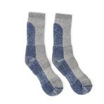 Merino Ski Socks (Blue)