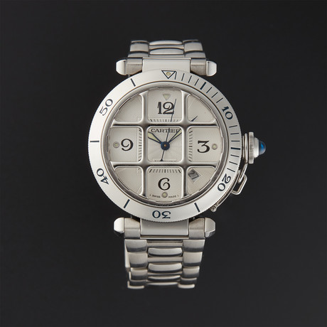 Cartier Pasha Grill Automatic // 2379 // Pre-Owned