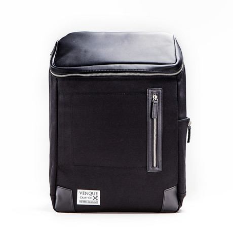 Amsterdam Backpack // Black + Black