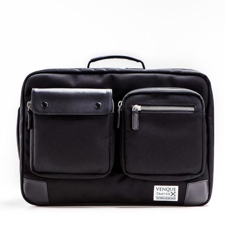 Briefpack XL // Black + Black (Black)