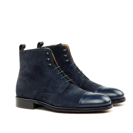 Ankle Boot // Blue (Euro: 39)
