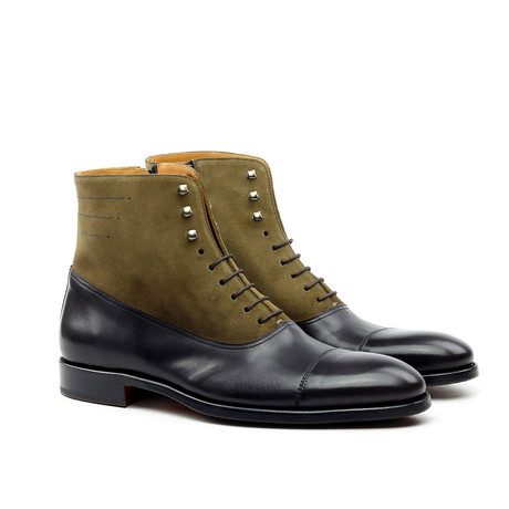 Ankle Boot // Graphite + Alpaca Grey (Euro: 39)