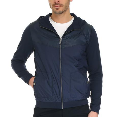 Ind Sweatshirt // Dark Navy + Multi (S)
