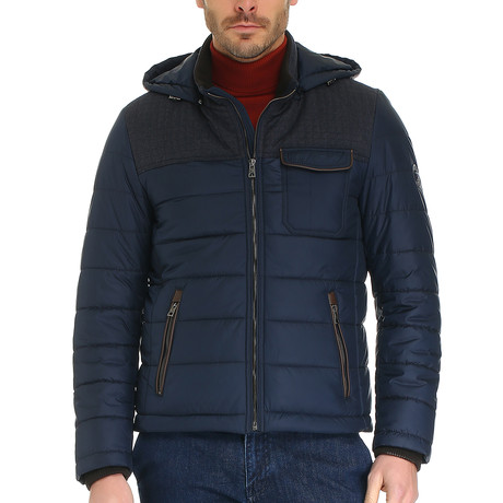 Jaar Coat // Dark Navy (S)